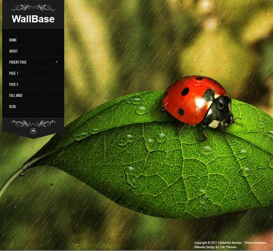 Тема Wallbase для wordpress