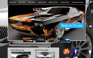 Тема Tuning Carbon для wordpress