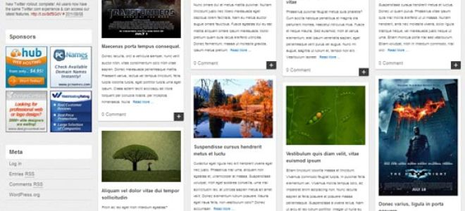 Тема Vasiliki для wordpress