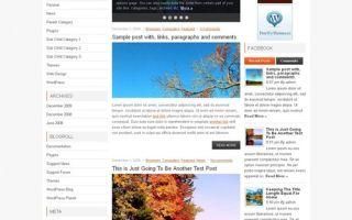 Тема NewsMash для wordpress