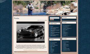 Тема Sport Fishing для wordpress