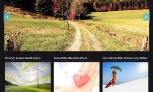 Тема Photoria для wordpress
