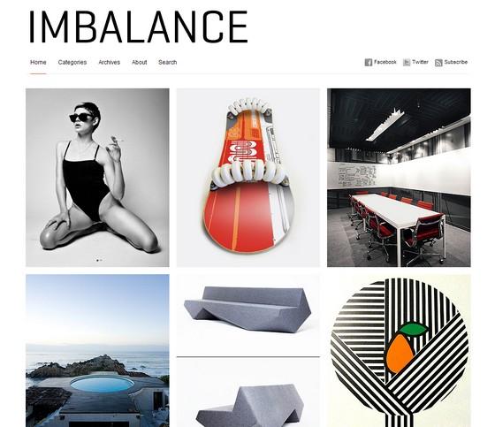 Тема Imbalance для wordpress